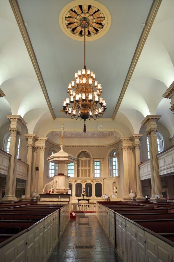 De Kapel van de koning, Boston, de V.S. royalty-vrije stock foto
