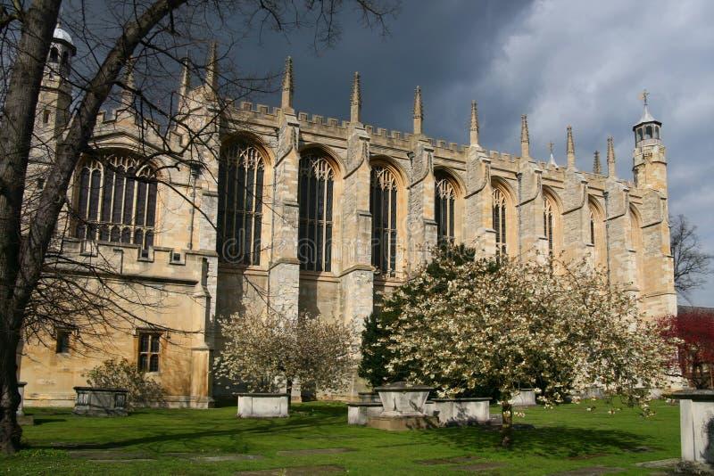 De Kapel van de Universiteit van Eton, Windsor stock afbeelding