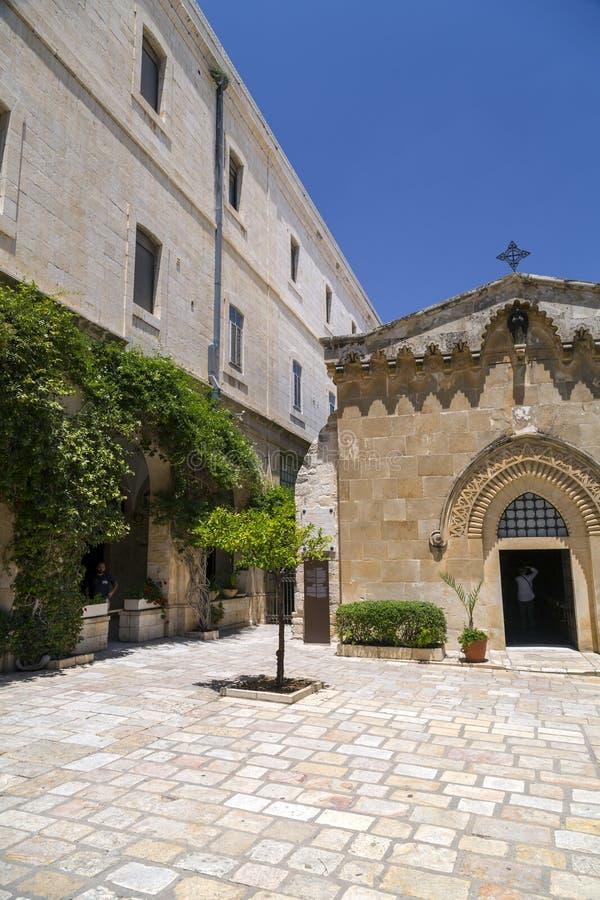 De Kapel van de Flagellatie, Jeruzalem stock afbeeldingen