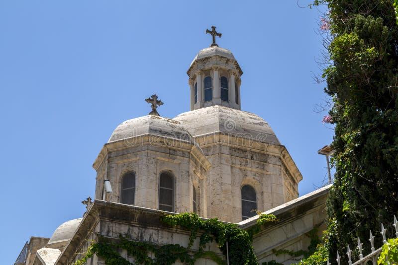 De Kapel van de Flagellatie, Jeruzalem royalty-vrije stock foto's
