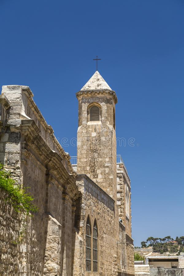 De Kapel van de Flagellatie, Jeruzalem royalty-vrije stock fotografie