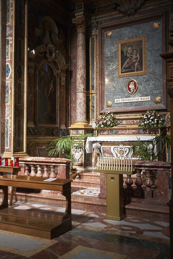 De kapel van Madonna del Rosario royalty-vrije stock foto's