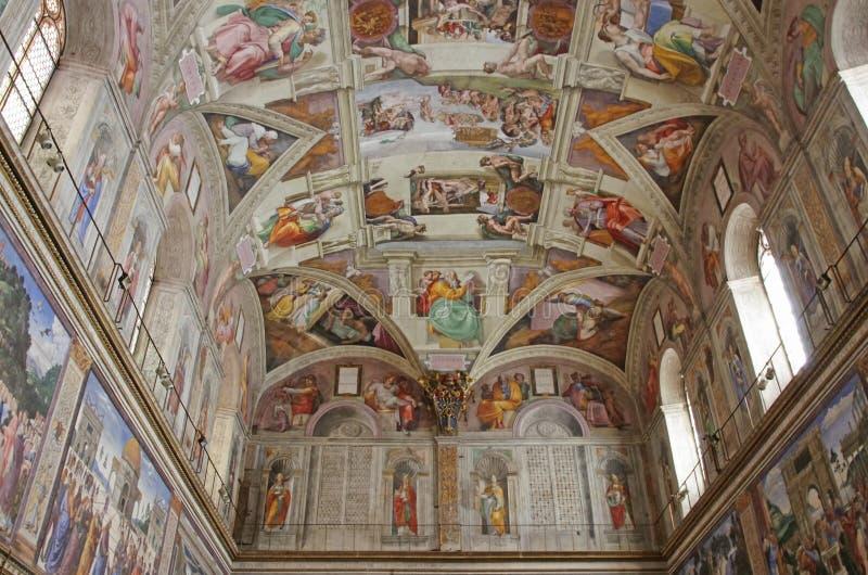 De Kapel van Sistine stock foto's