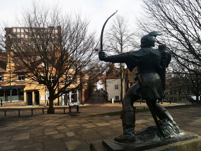 De Kapstandbeeld van Robin royalty-vrije stock foto