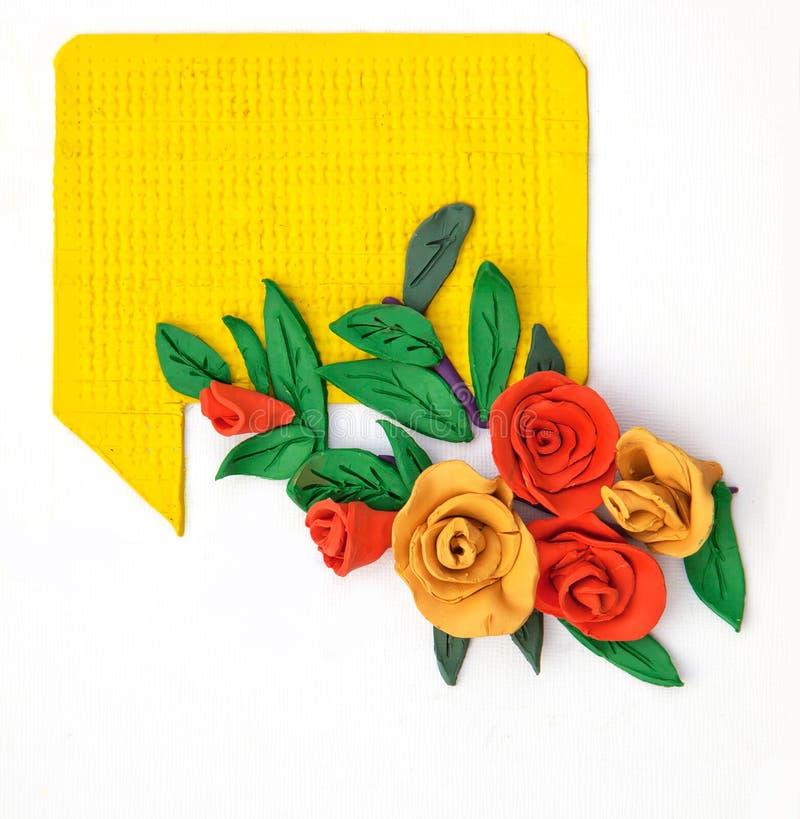 De kar van bloemen royalty-vrije illustratie