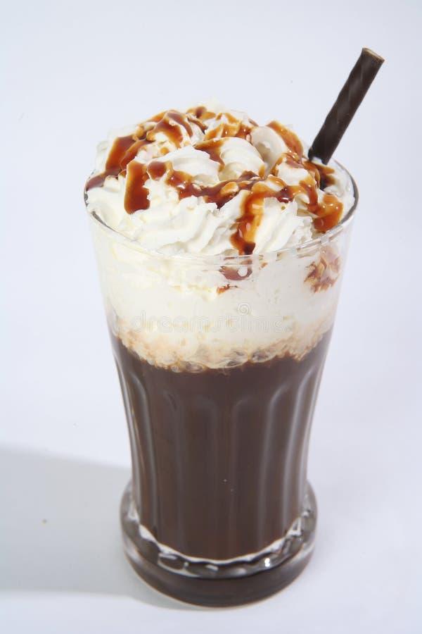 De karamel van de koffie stock fotografie