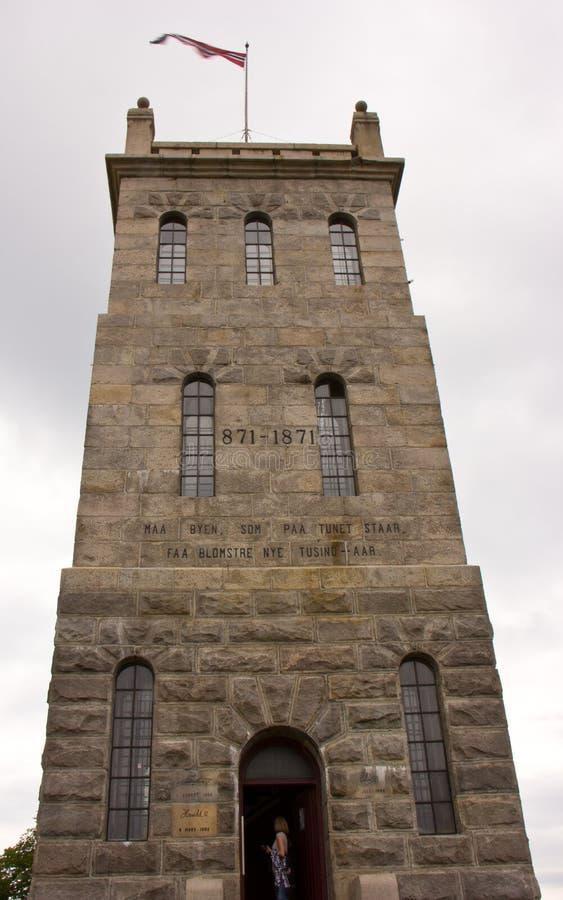 De Kasteeltoren in de Tonsberg-Vesting royalty-vrije stock foto