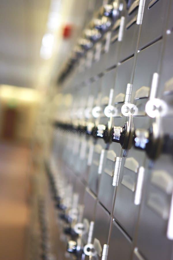 De Kasten van de school royalty-vrije stock afbeelding