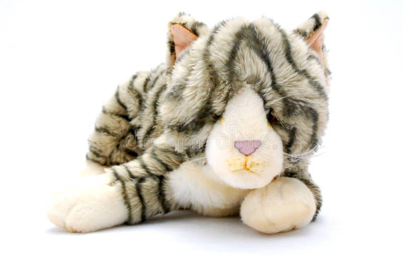 De kat van het stuk speelgoed royalty-vrije stock foto's
