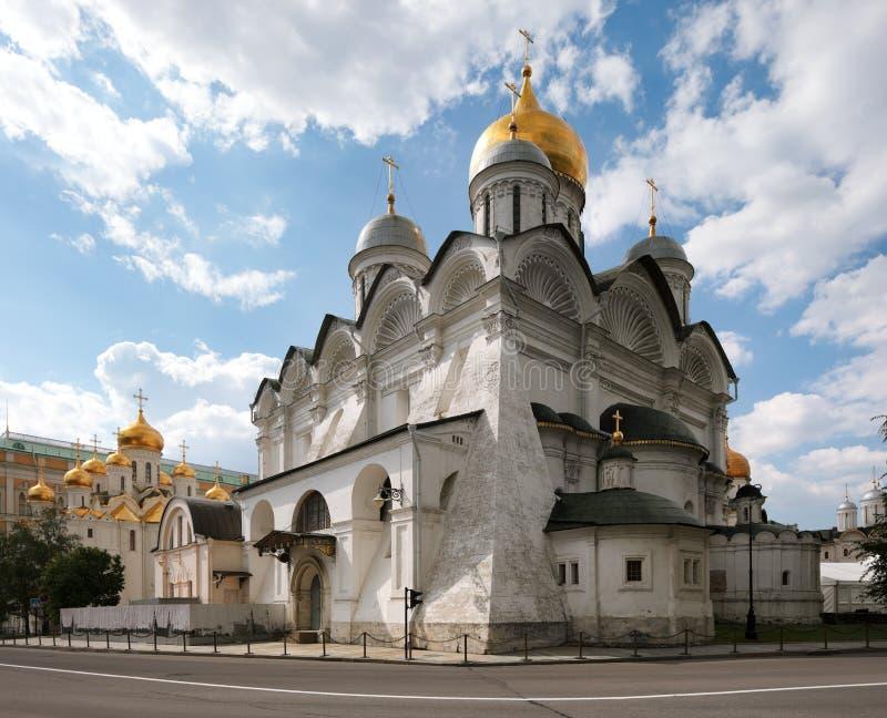 De kathedraal Archangelâs van Moskou het Kremlin. stock fotografie