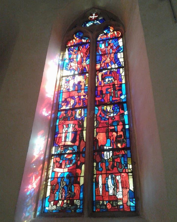 De kathedraal l'eglise DE La ville Veux-Brisaque Allemand royalty-vrije stock foto's