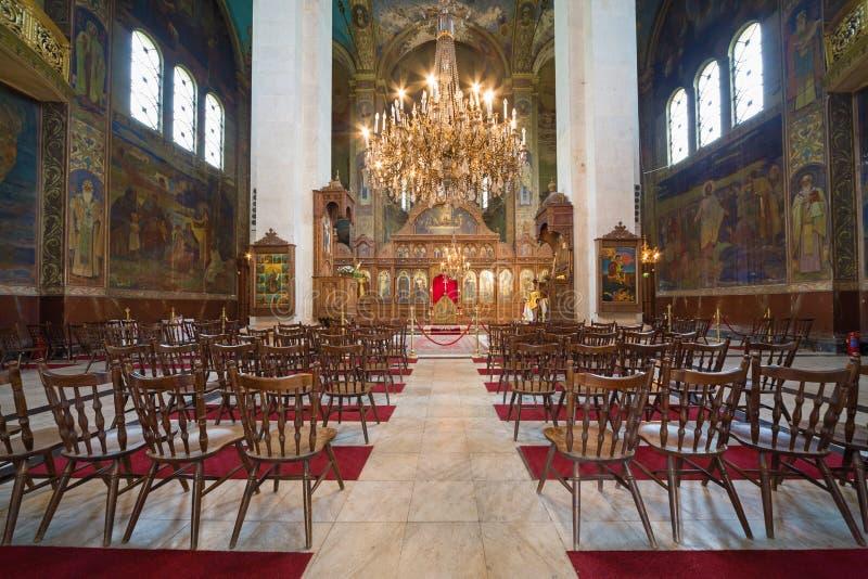 De kathedraal St Dimitar, Vidin stock fotografie