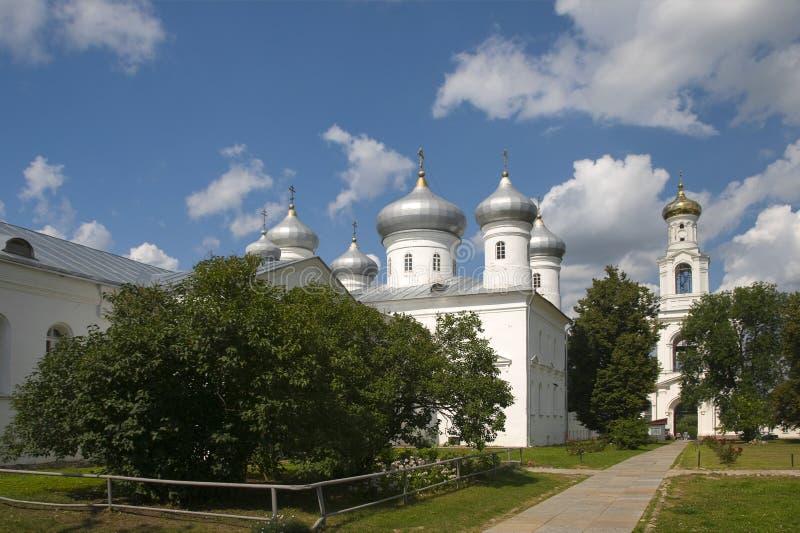 De kathedraal St. George Monastery van de Redder stock foto's