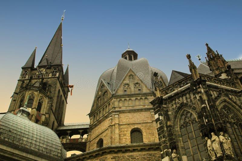 De kathedraal van Aken royalty-vrije stock fotografie