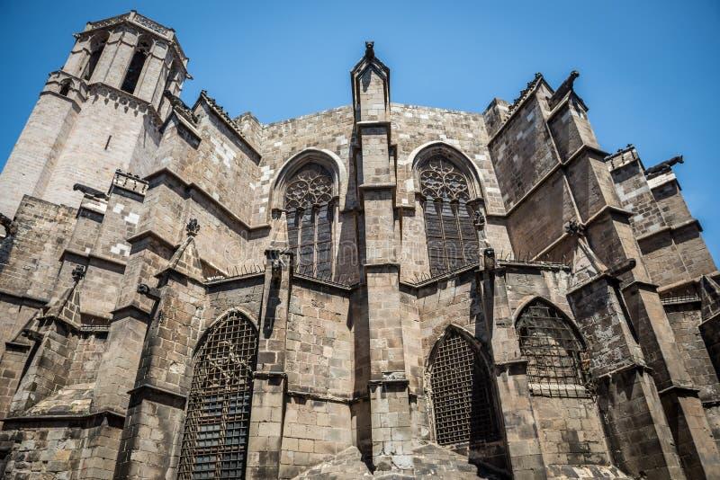 De kathedraal van Barcelona royalty-vrije stock foto's
