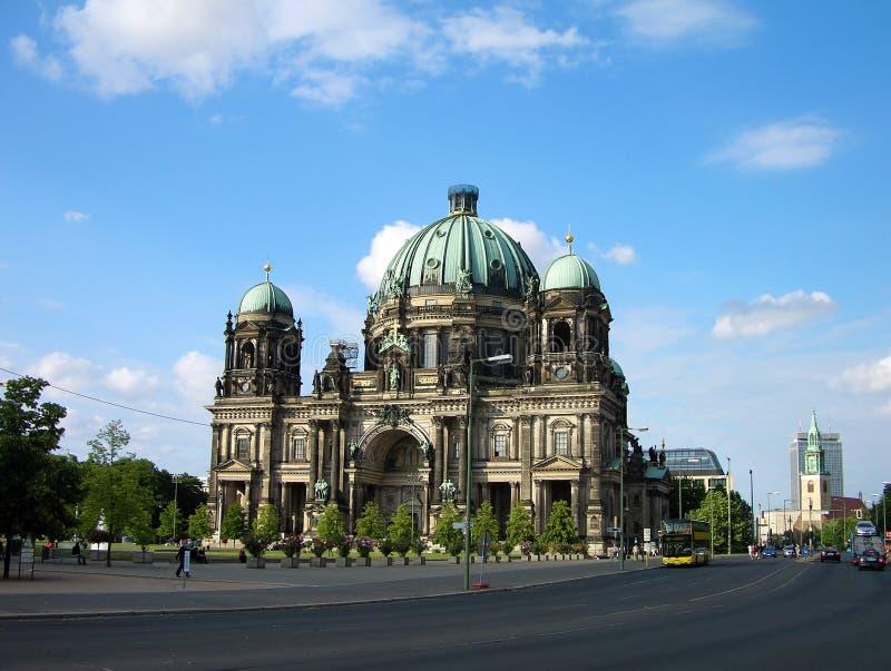De Kathedraal van Berlijn (Berliner Dom), Duitsland royalty-vrije stock afbeeldingen