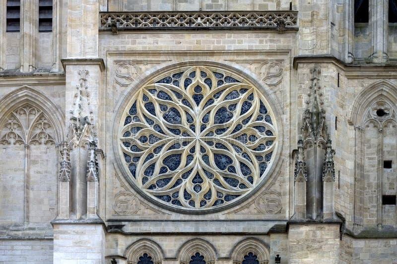 De Kathedraal van Bordeaux, Frankrijk royalty-vrije stock fotografie