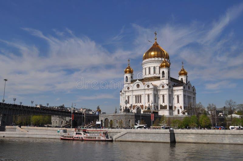 De kathedraal van Christus de Redder stock foto's