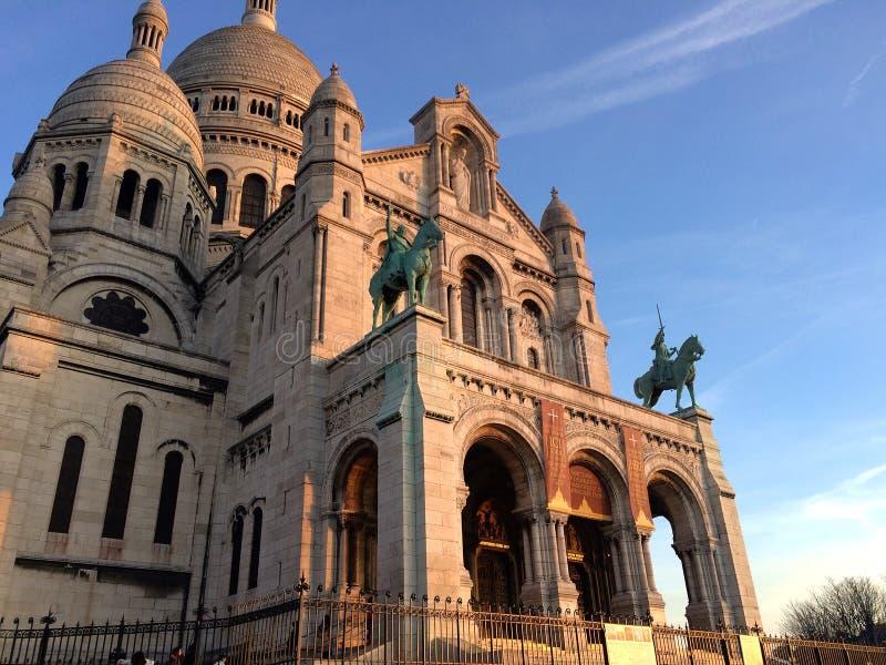 De kathedraal van Coeur van Sacre royalty-vrije stock foto