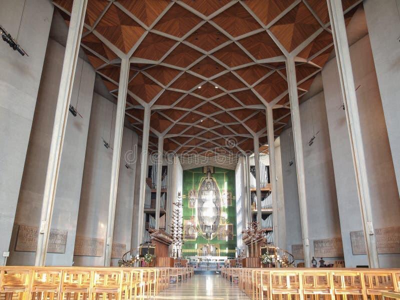 De Kathedraal van Coventry in Coventry royalty-vrije stock afbeeldingen