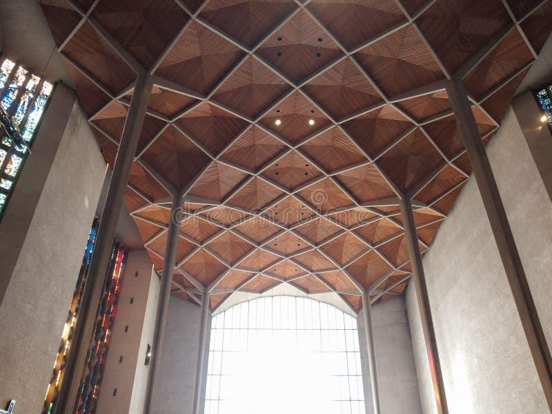De Kathedraal van Coventry in Coventry royalty-vrije stock foto's