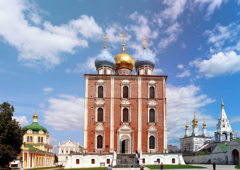 De Kathedraal van de fotoveronderstelling royalty-vrije stock fotografie