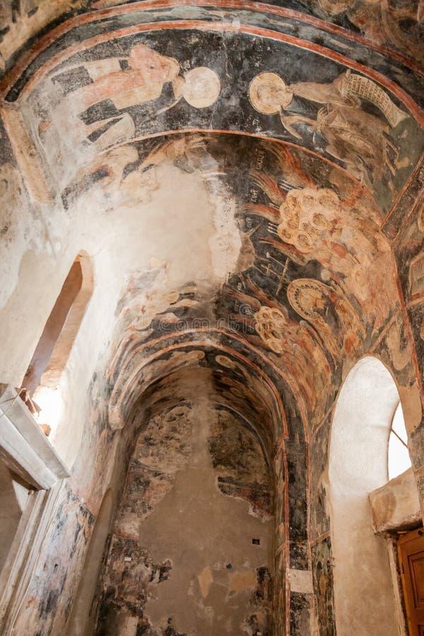 De Kathedraal van de Mystrasmetropool stock afbeeldingen