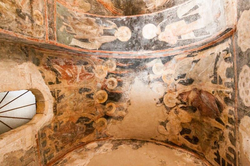 De Kathedraal van de Mystrasmetropool royalty-vrije stock afbeelding