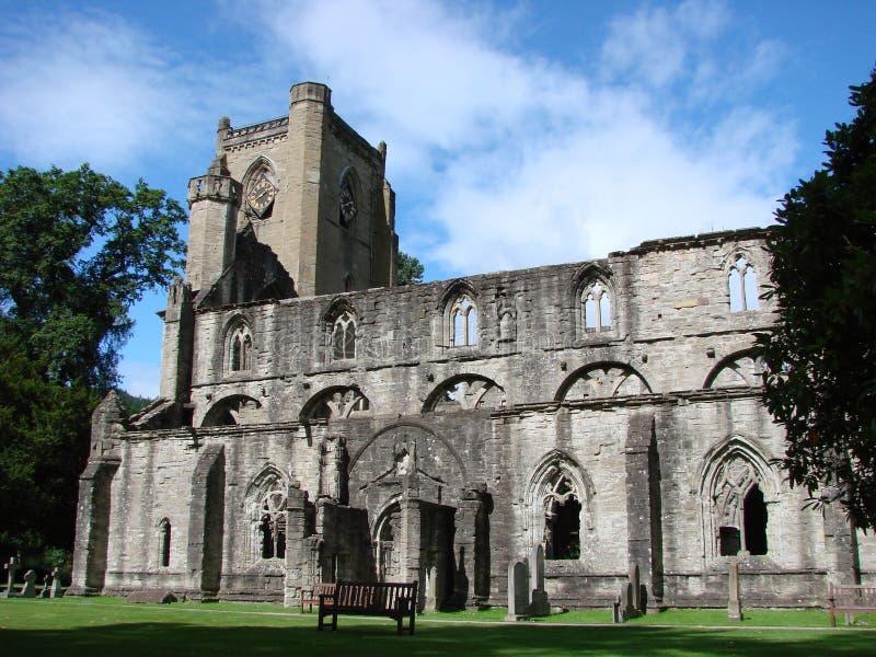 De kathedraal van Dunkel, Schotland stock afbeeldingen
