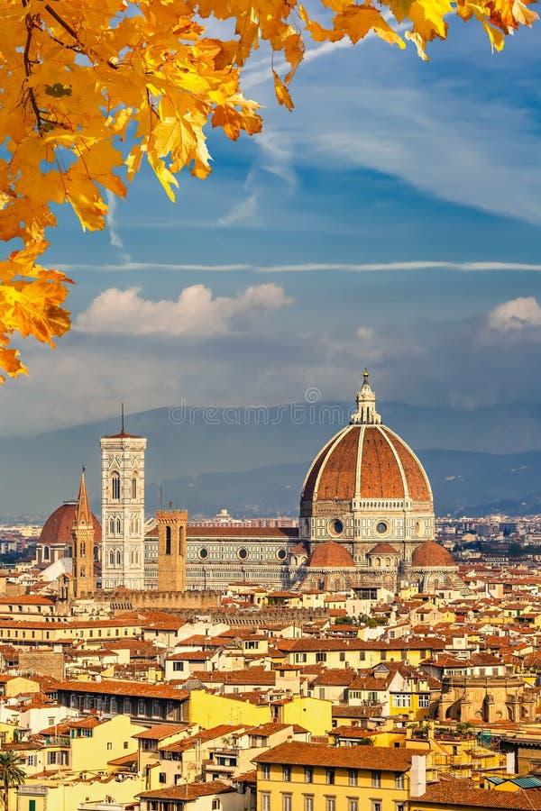 De kathedraal van Duomo in Florence royalty-vrije stock foto