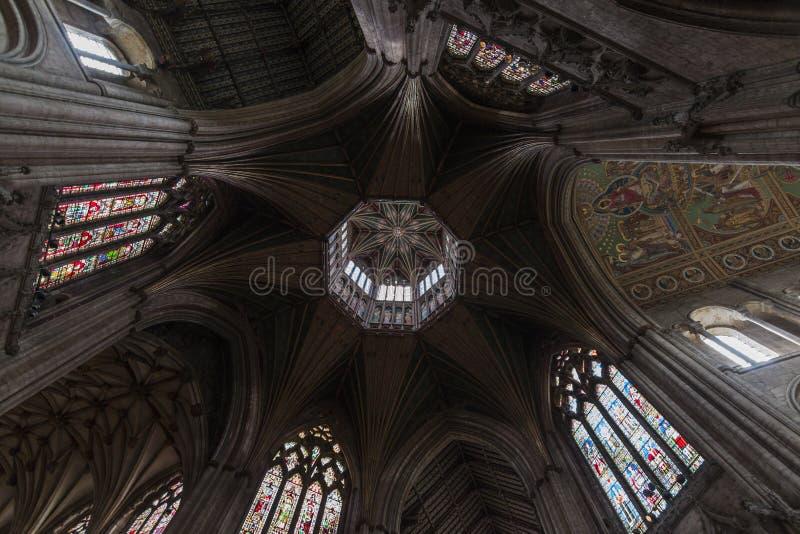 De kathedraal van Ely royalty-vrije stock afbeelding