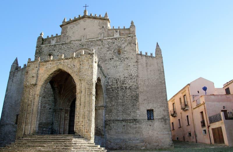 De kathedraal van Erice royalty-vrije stock afbeelding
