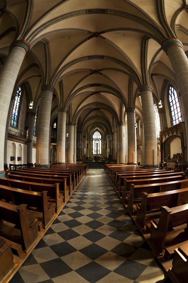 De kathedraal van Essen royalty-vrije stock fotografie