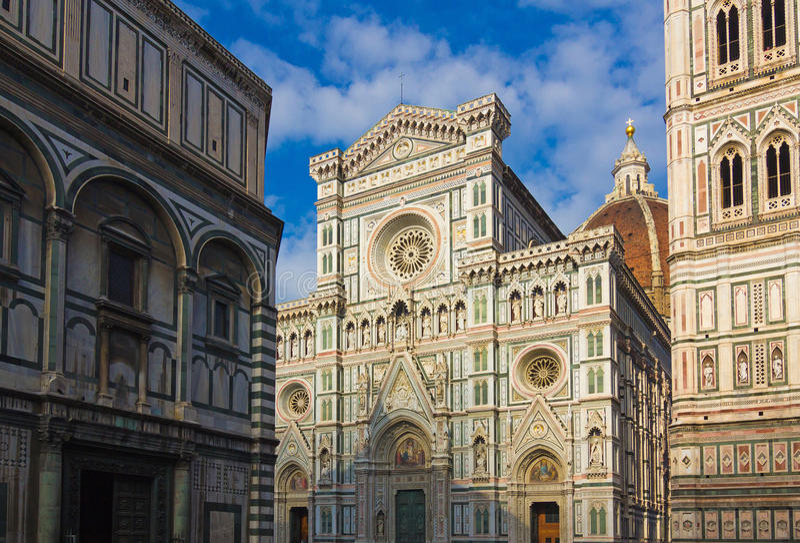 De kathedraal van Florence, Italië, Europa royalty-vrije stock afbeeldingen