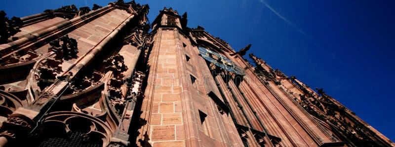 De Kathedraal van Frankfurt royalty-vrije stock afbeelding