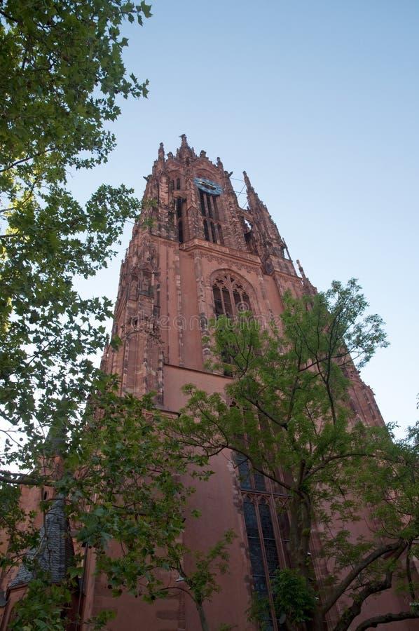 De Kathedraal van Frankfurt royalty-vrije stock foto's