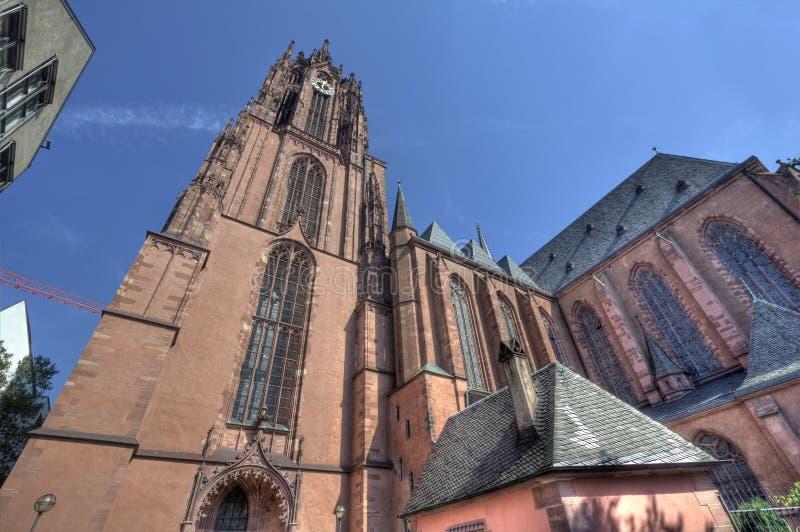 De Kathedraal van Frankfurt royalty-vrije stock foto