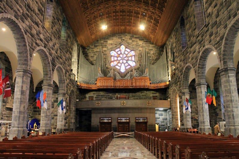 De kathedraal van Galway in Ierland stock foto's