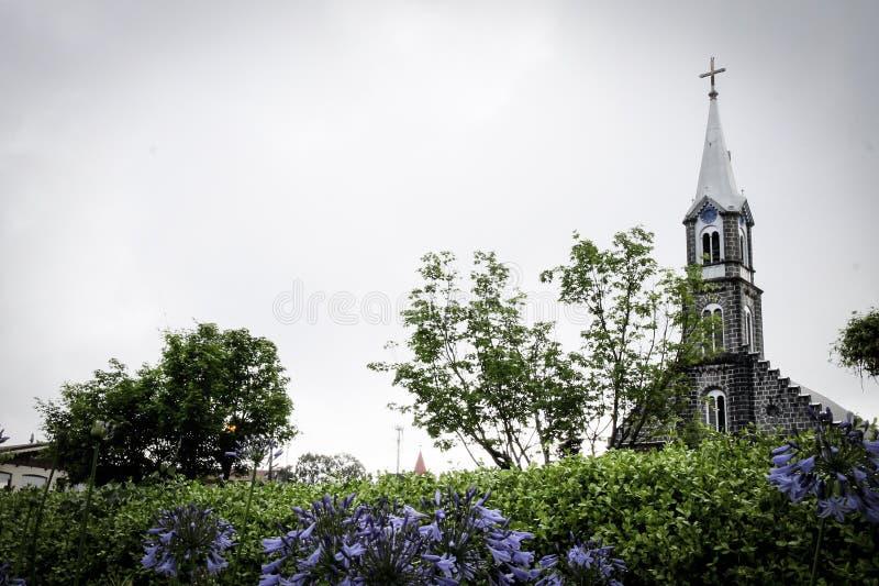 De Kathedraal van Gramado stock foto's