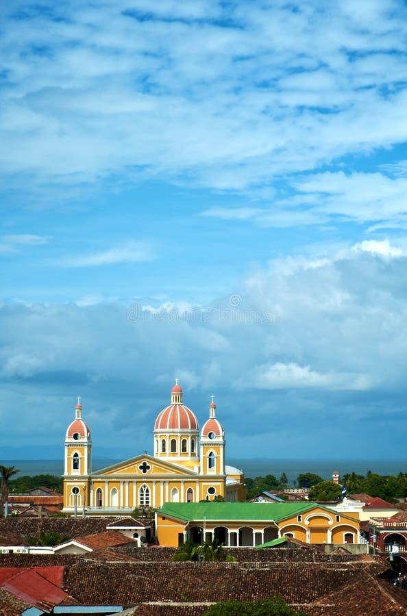 De Kathedraal van Granada stock foto's
