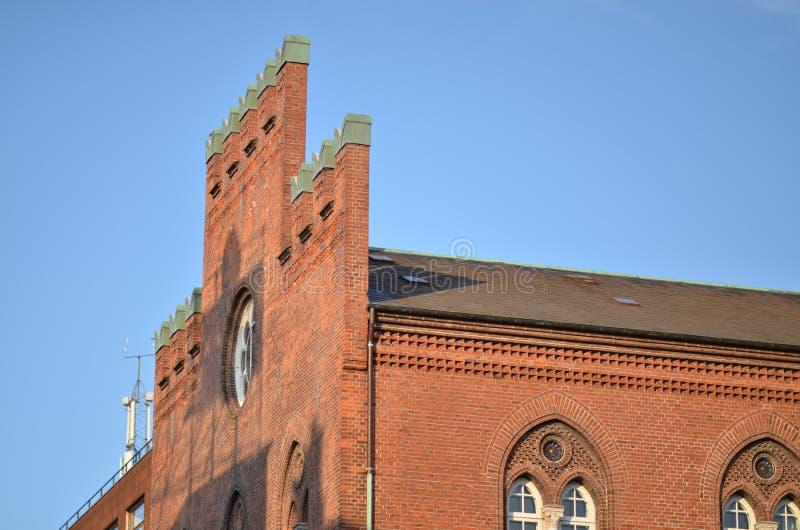 De Kathedraal van heilige Canute royalty-vrije stock foto