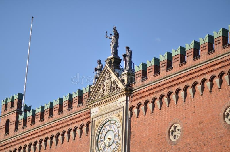 De Kathedraal van heilige Canute royalty-vrije stock afbeeldingen