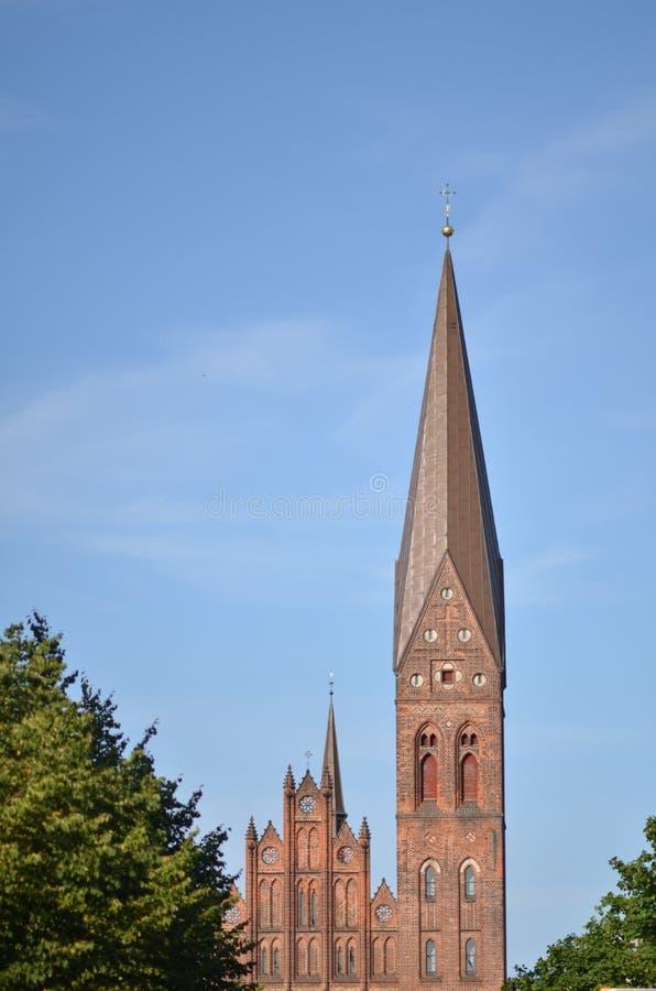 De Kathedraal van heilige Canute royalty-vrije stock foto's
