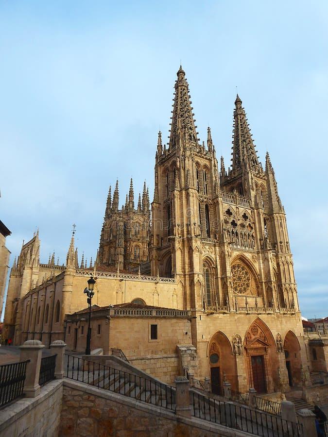 Download De Kathedraal Van Heilige Mary Van Burgos Het Spaans: Catedral DE Santa Maria De Burgos Burgos Spanje Redactionele Afbeelding - Afbeelding bestaande uit frans, barok: 107703770