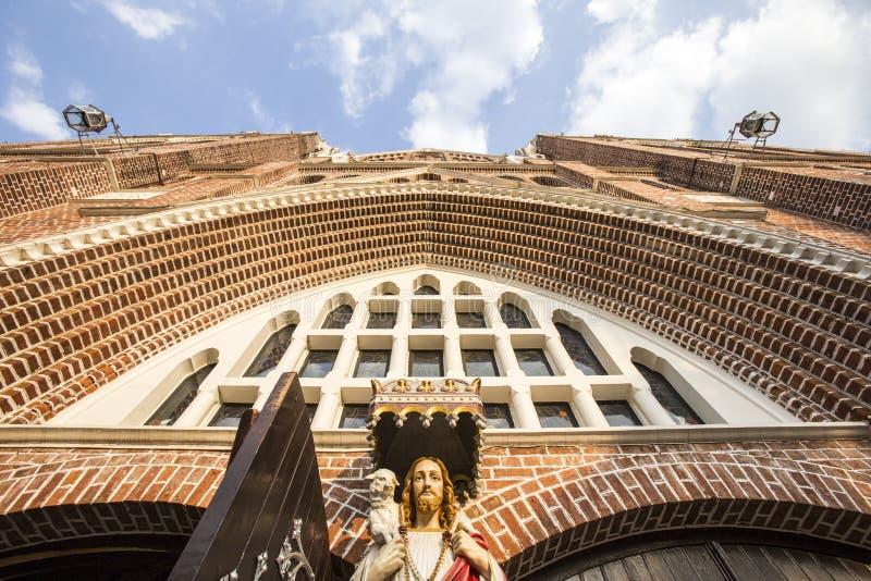 De kathedraal van heilige Mary yangon royalty-vrije stock fotografie