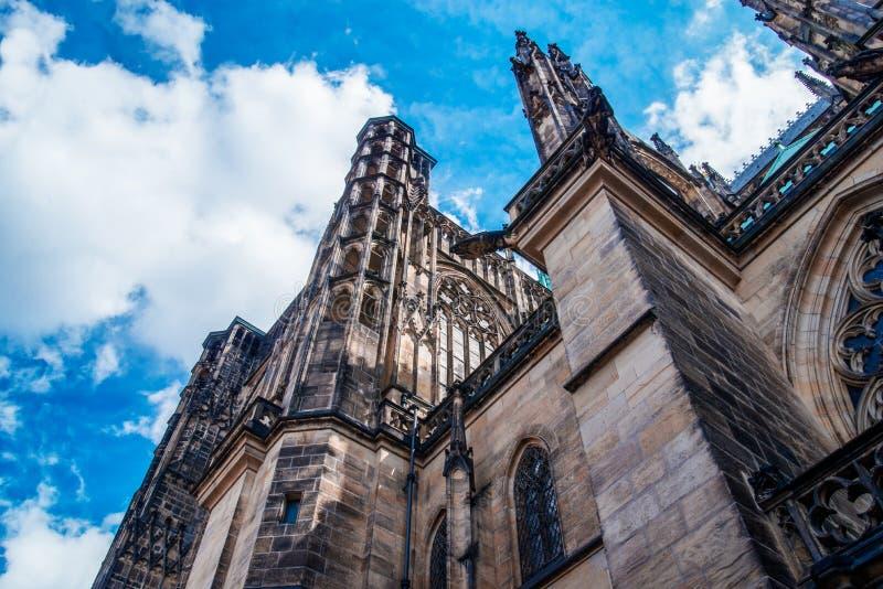 De Kathedraal van heilige Vitus in Praag royalty-vrije stock foto's