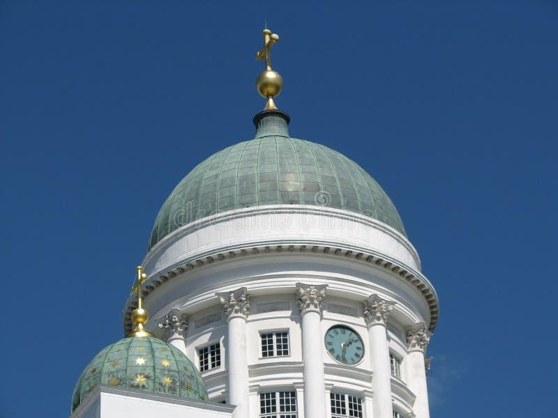De kathedraal van Helsinki stock afbeelding