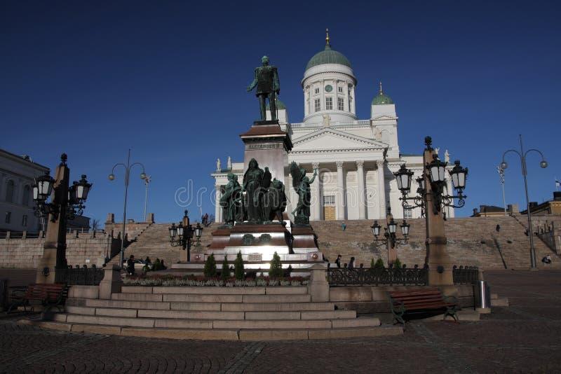 De kathedraal van Helsinki, Finland stock fotografie
