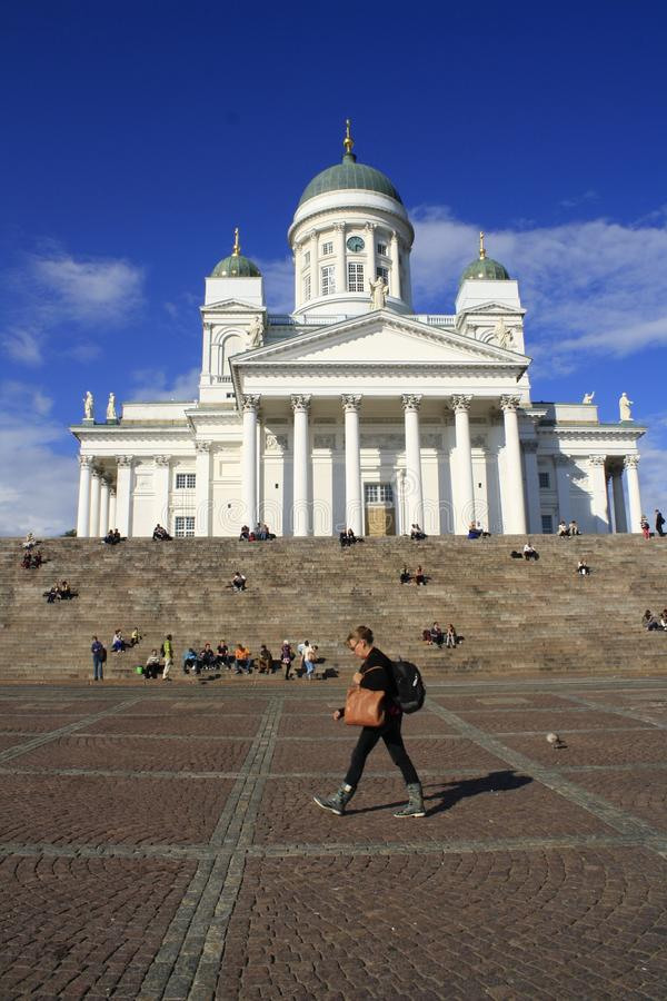 De Kathedraal van Helsinky royalty-vrije stock foto's