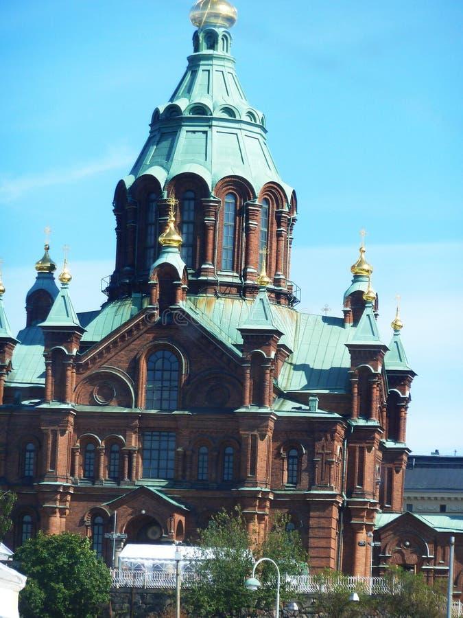 De Kathedraal van Helsinky stock fotografie